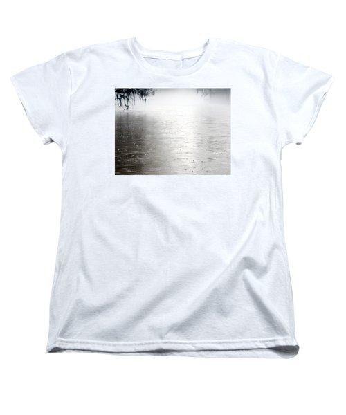 Rain On The Flint Women's T-Shirt (Standard Cut) by Kim Pate