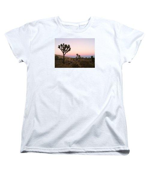 Rainbow Morning Women's T-Shirt (Standard Cut) by Angela J Wright