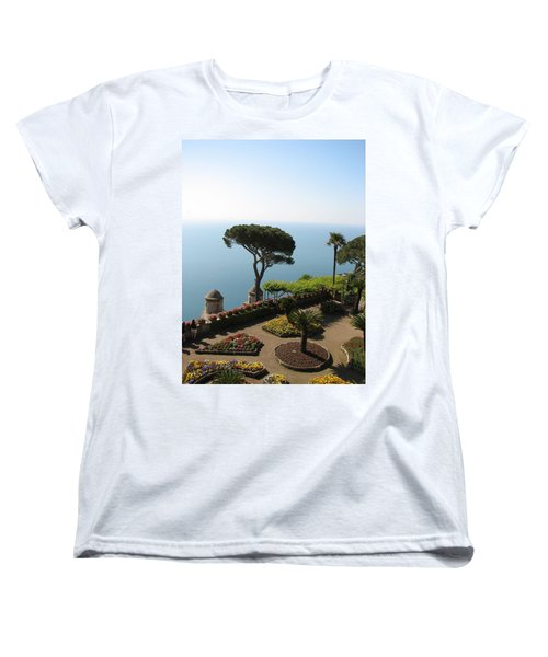 Women's T-Shirt (Standard Cut) featuring the photograph Ravello by Carla Parris