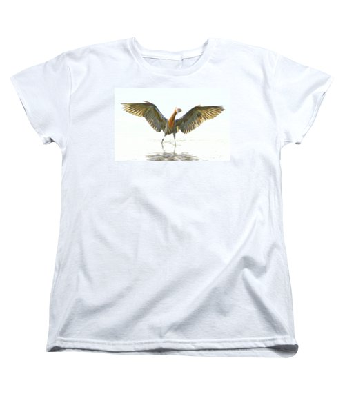 Reddish Egret 2 Women's T-Shirt (Standard Cut) by William Horden