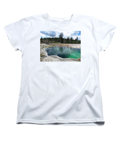 Women's T-Shirt (Standard Cut) featuring the photograph Reflection by Laurel Powell