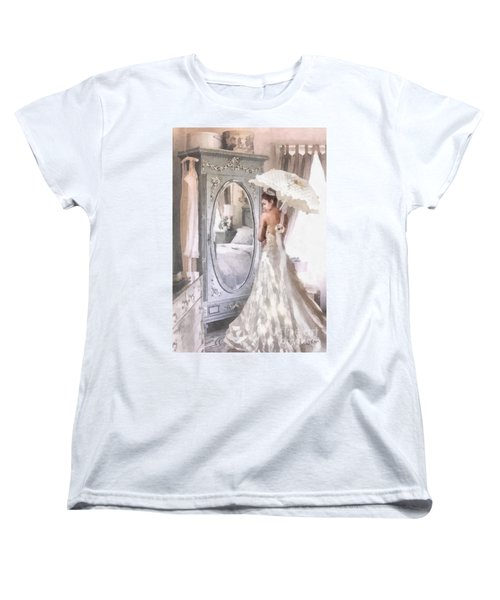Reflection Women's T-Shirt (Standard Cut) by Mo T