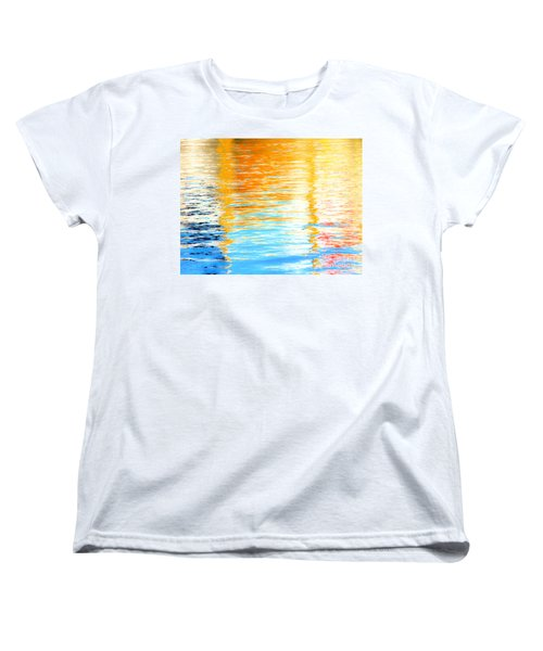 Reflections Of The Setting Sun Women's T-Shirt (Standard Cut) by Roselynne Broussard