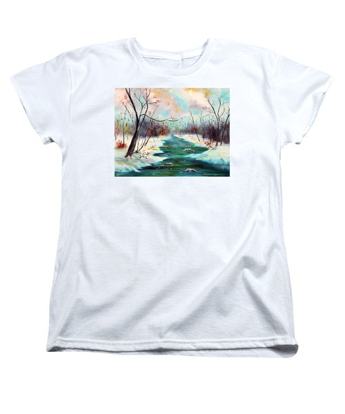 Reflections Of Worship Women's T-Shirt (Standard Cut) by Meaghan Troup