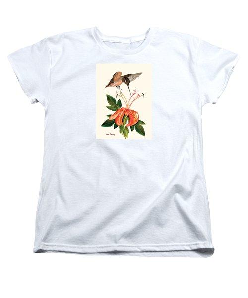 Refueling In Flight Women's T-Shirt (Standard Cut) by Anne Beverley-Stamps