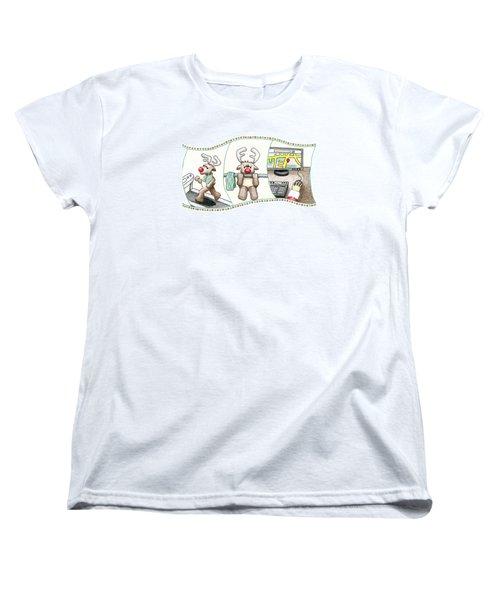 Right Before X'mas Women's T-Shirt (Standard Cut) by Keiko Katsuta