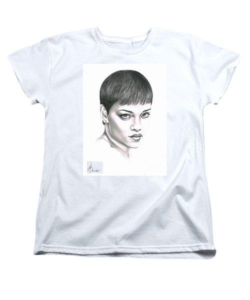 Rihanna Women's T-Shirt (Standard Cut) by Murphy Elliott