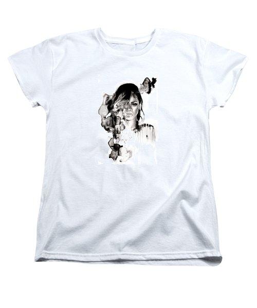 Rihanna Stay Women's T-Shirt (Standard Cut) by Molly Picklesimer