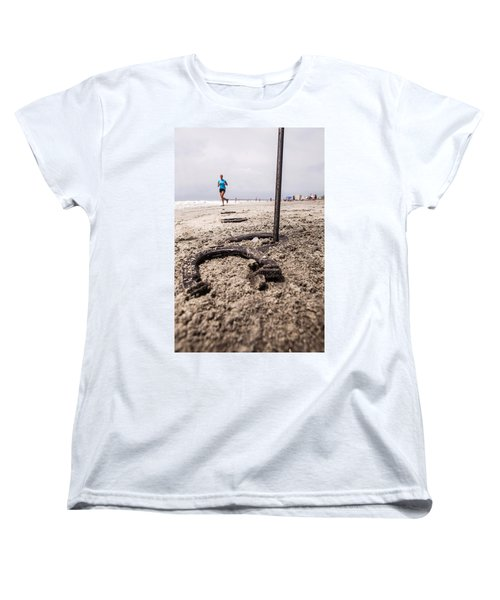 Women's T-Shirt (Standard Cut) featuring the photograph Ringer by Sennie Pierson