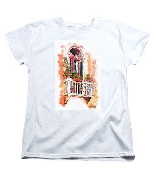 Riposo Women's T-Shirt (Standard Cut) by Greg Collins