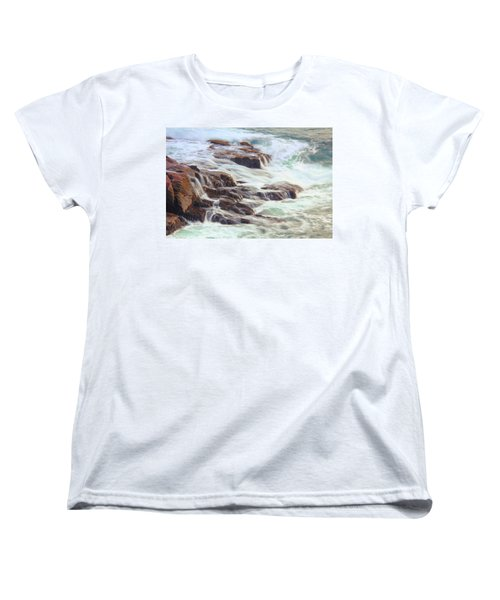 Awash  Women's T-Shirt (Standard Cut) by Roupen  Baker