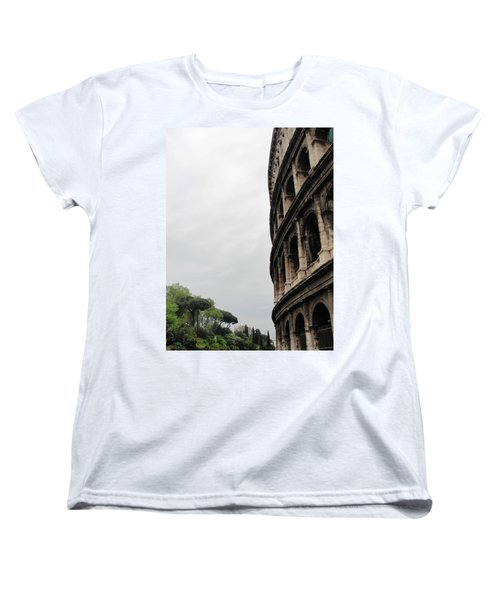 Women's T-Shirt (Standard Cut) featuring the photograph Roman Coliseum by Tiffany Erdman