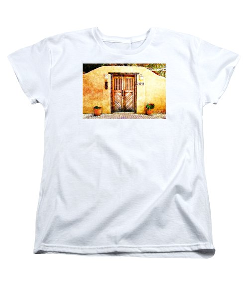 Romance Of New Mexico Women's T-Shirt (Standard Cut) by Barbara Chichester