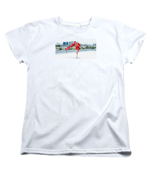 Roof Top II Women's T-Shirt (Standard Cut) by Gregory Worsham