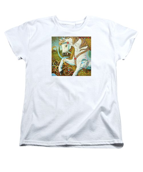 Runaway Rocker Women's T-Shirt (Standard Cut) by Robin Birrell