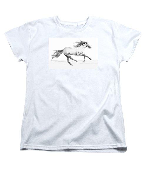 Runaway Women's T-Shirt (Standard Cut) by Sophia Schmierer