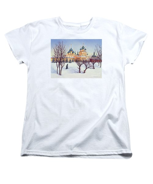 Russian Winter Women's T-Shirt (Standard Cut) by Tilly Willis