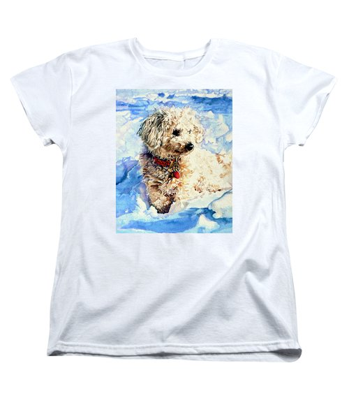 Sacha Women's T-Shirt (Standard Cut) by Hanne Lore Koehler