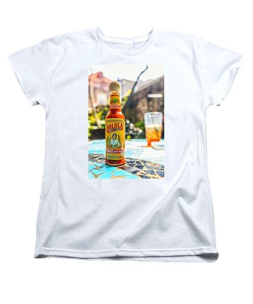 Salsa Caliente Women's T-Shirt (Standard Cut) by Sennie Pierson