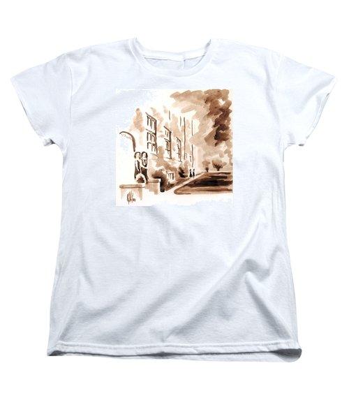 School Days At Ursuline Women's T-Shirt (Standard Cut) by Kip DeVore