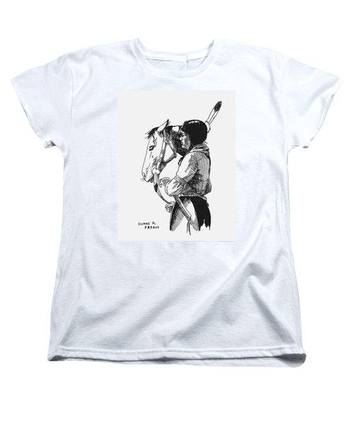 Scout Women's T-Shirt (Standard Cut) by Duane R Probus