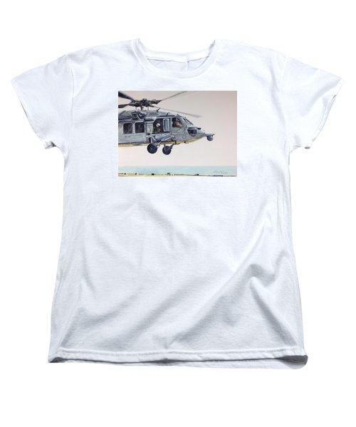 Sea Hawk Women's T-Shirt (Standard Cut) by Stan Tenney