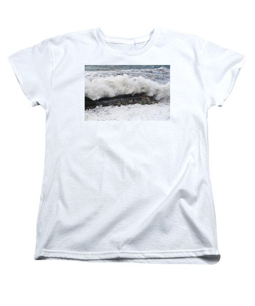 Sea Storm  Women's T-Shirt (Standard Cut) by Antonio Scarpi