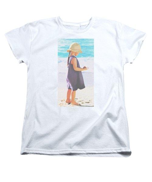 Seaside Treasures Women's T-Shirt (Standard Cut) by Sophia Schmierer