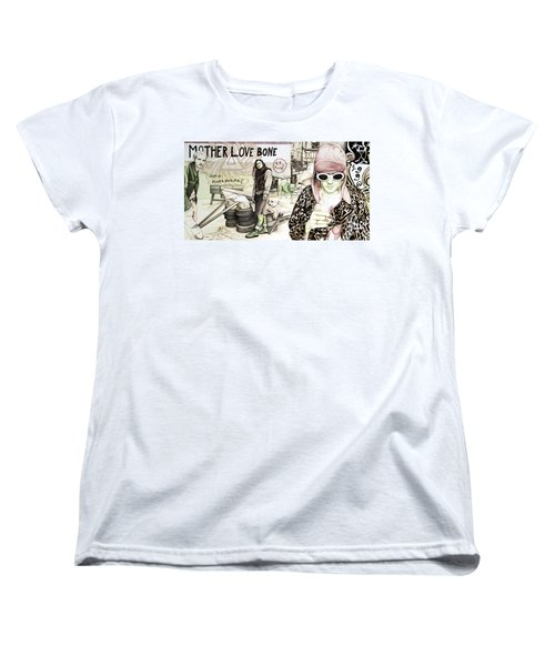 Seattle 1990's Women's T-Shirt (Standard Cut) by Joshua Morton
