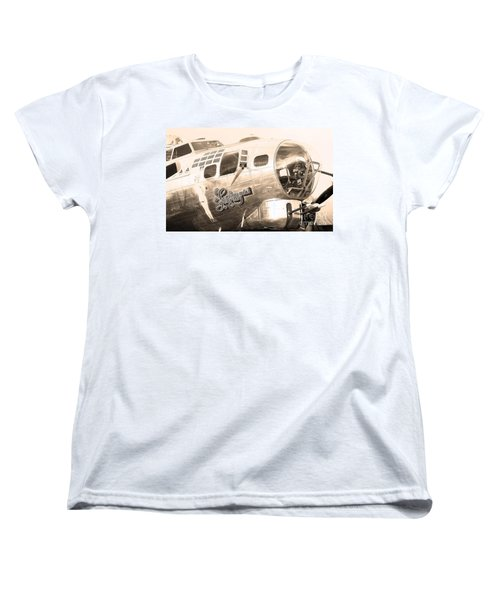 Sentimental Journey Women's T-Shirt (Standard Cut) by Steven Reed