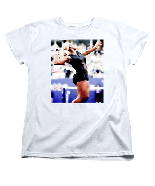 Serena Williams Catsuit Women's T-Shirt (Standard Cut) by Brian Reaves
