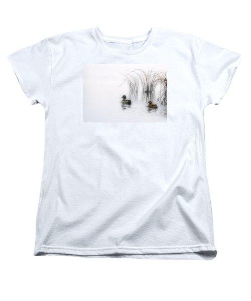 Serene Moments Women's T-Shirt (Standard Cut) by Karol Livote