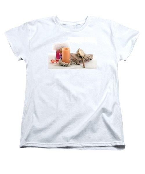 Women's T-Shirt (Standard Cut) featuring the photograph Serenity by Gunter Nezhoda