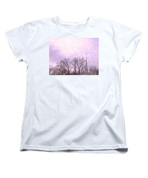 Women's T-Shirt (Standard Cut) featuring the photograph Serenity by Pamela Hyde Wilson