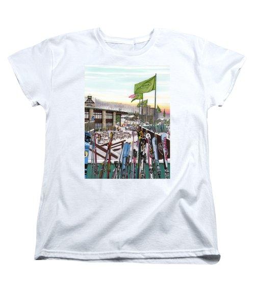 Seven Springs Mountain Resort Women's T-Shirt (Standard Cut) by Albert Puskaric