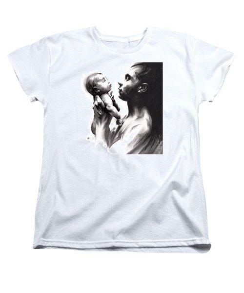 Shadowtwister Reflections  Women's T-Shirt (Standard Cut) by Paul Davenport