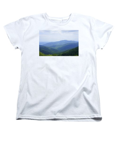 Shenandoah View Women's T-Shirt (Standard Cut) by Laurie Perry