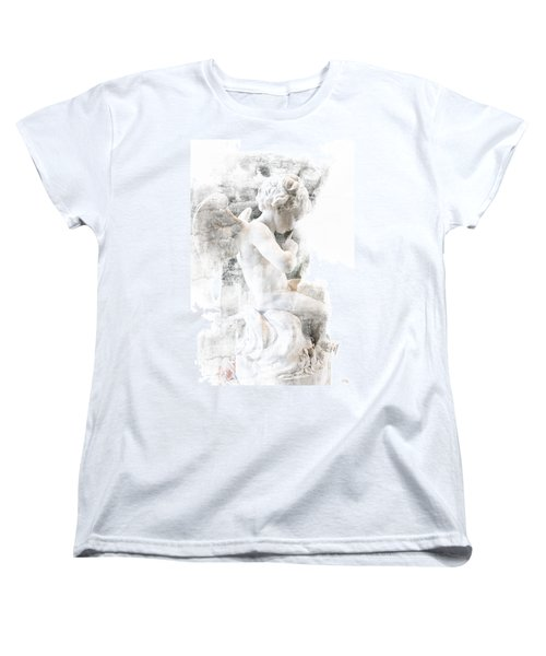 Shhhhh Women's T-Shirt (Standard Cut) by Evie Carrier