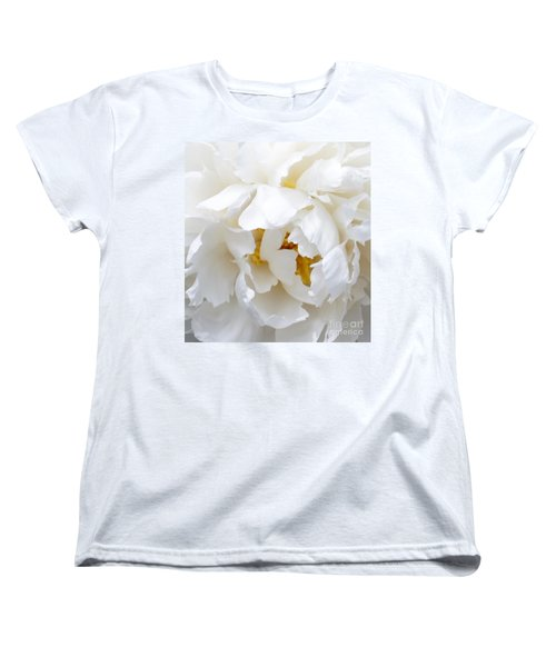 Women's T-Shirt (Standard Cut) featuring the photograph Shy Girl by Lilliana Mendez