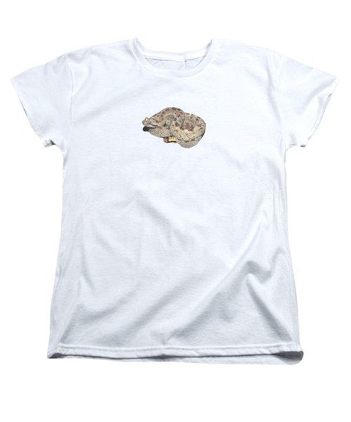 Sidewinder Women's T-Shirt (Standard Cut) by Cindy Hitchcock