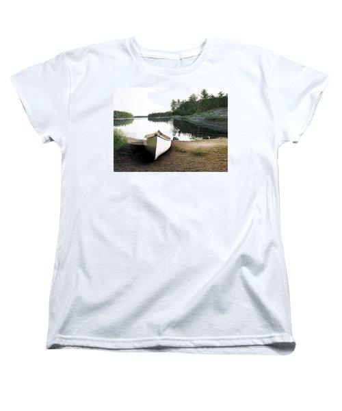 Silent Retreat Women's T-Shirt (Standard Cut) by Kenneth M  Kirsch
