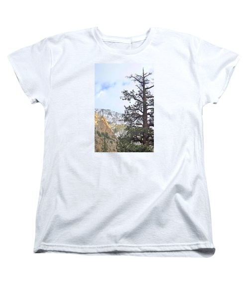 Women's T-Shirt (Standard Cut) featuring the photograph Simply by Marilyn Diaz