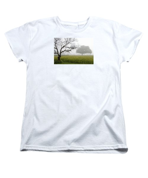 Women's T-Shirt (Standard Cut) featuring the photograph Skc 0058 Contrasty Trees by Sunil Kapadia