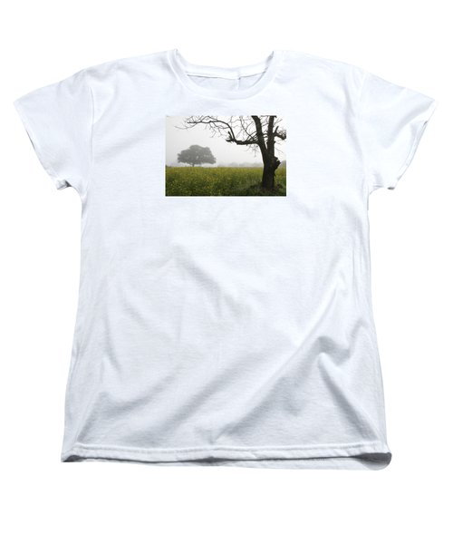Women's T-Shirt (Standard Cut) featuring the photograph Skc 0060 Framed Tree by Sunil Kapadia