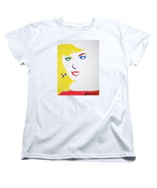Blonde Mother Nature Women's T-Shirt (Standard Cut) by Stormm Bradshaw