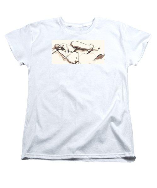 Sleeping Nude Women's T-Shirt (Standard Cut)