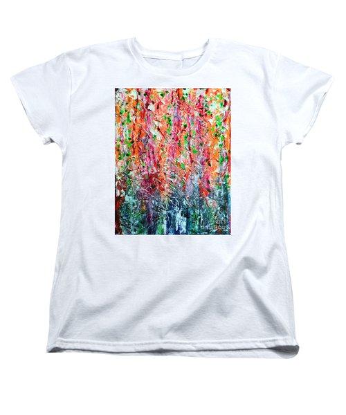 Snapdragons II Women's T-Shirt (Standard Cut) by Alys Caviness-Gober