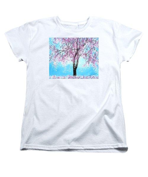 So Spring Women's T-Shirt (Standard Cut) by Kume Bryant