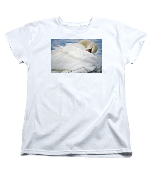 Softly Sleeping Women's T-Shirt (Standard Cut) by Deb Halloran