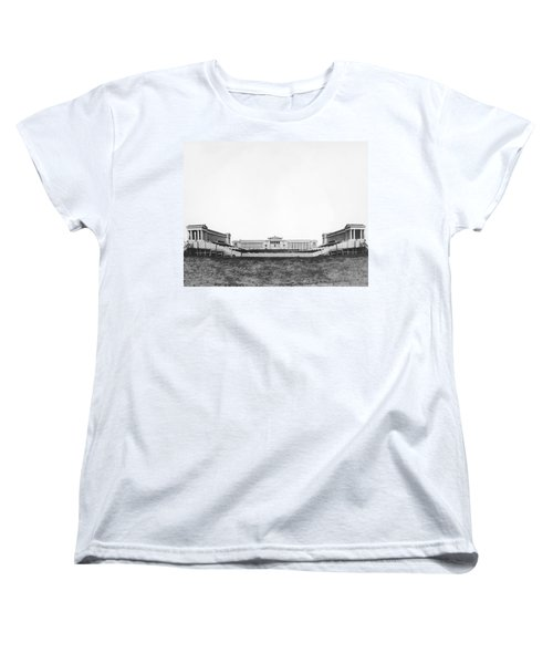 Soldiers' Field And Museum Women's T-Shirt (Standard Cut) by Underwood Archives